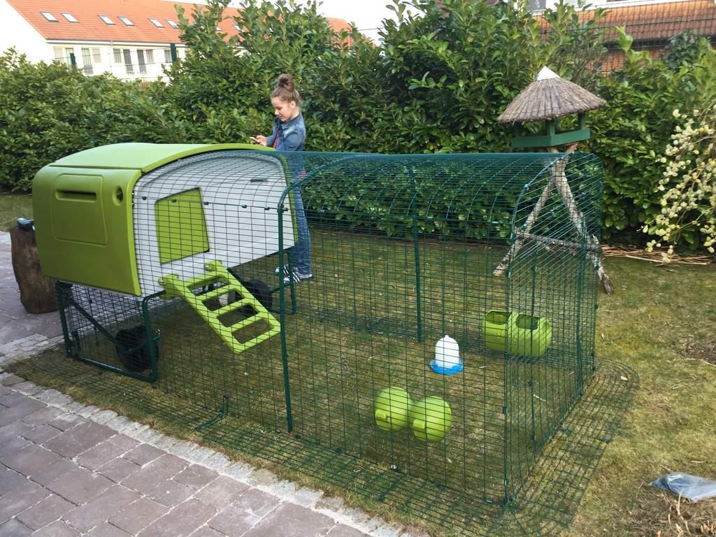 Eglu Cube Mk1 1m Run Extension Chicken Runs Amp Chicken Netting Chicken Coops Walk