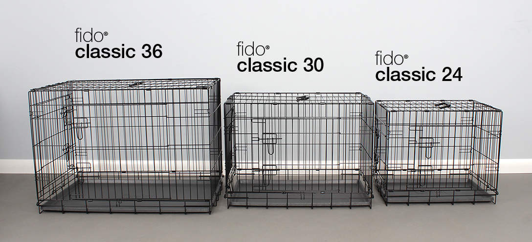 Fido Classic comes in 3 sizes