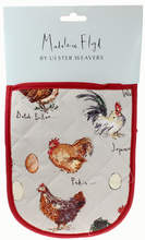 Madeleine Floyd Chicken and Egg Double Oven Glove