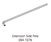 Cube Mk2 Extension Pole Side (064.1076)