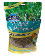Nature's Feast Dried Mealworms 500g Pouch