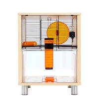 Birch Style Qute Gerbil and Hamster Cage