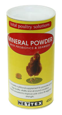 Nettex Mineral Powder with Probiotics - 450g