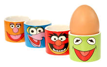 Set of Four Muppets Egg Cups
