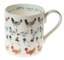 'Lay a Little Egg for Me' Chicken Mug by Sophie Allport