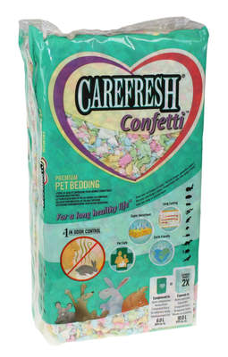 Carefresh Animal Bedding 10L - Confetti