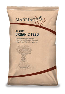 Marriage's Organic Layers Pellets - 20kg