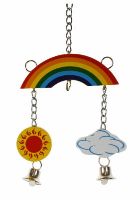 Woodies Rainbow Mobile for Birds and Small Animals