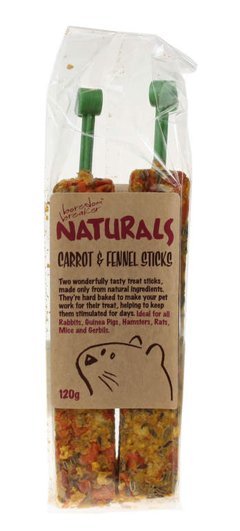 Naturals Carrot And Fennel Sticks