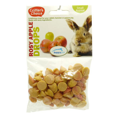 Critter's Choice Rosy Apple Drops 75g