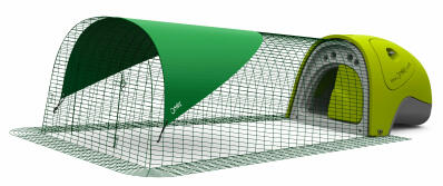 Eglu Classic Rabbit Hutch with 2m Run Package - Green