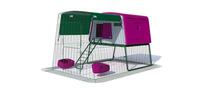 Eglu Cube Mk2 with 2m Run Package - Purple