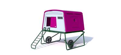 Eglu Cube Mk2 with Wheels and Accessories - Purple