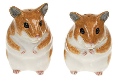 Salt and Pepper Hamsters
