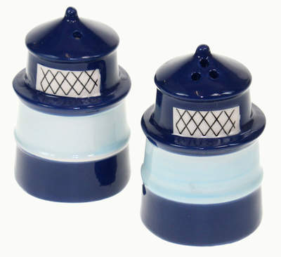 Lighthouse Ceramic Salt and Pepper Set