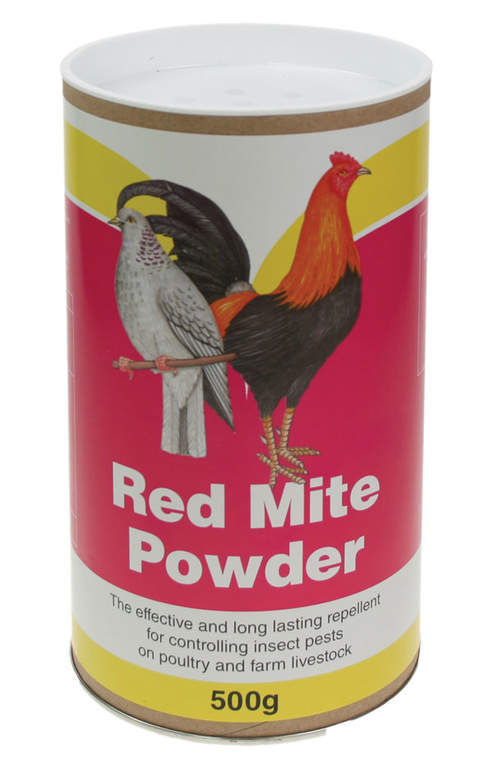 The Battles Red Mite Powder Comes In A Handy Tube For Easier Applications