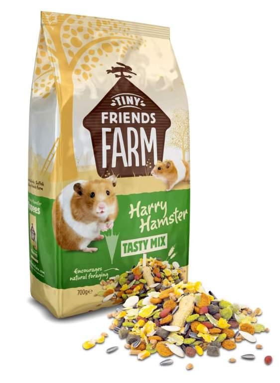 Harry Hamster Food 700g Hamster Gerbil Food Hamster Cages