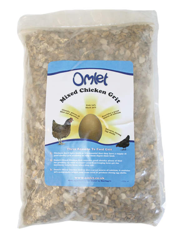 Mixed Chicken Grit Helps Keep Egg Shells Strong