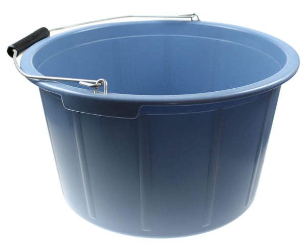Feed Bucket 20 Litre Blue  Chicken Feed and Treats For Chickens