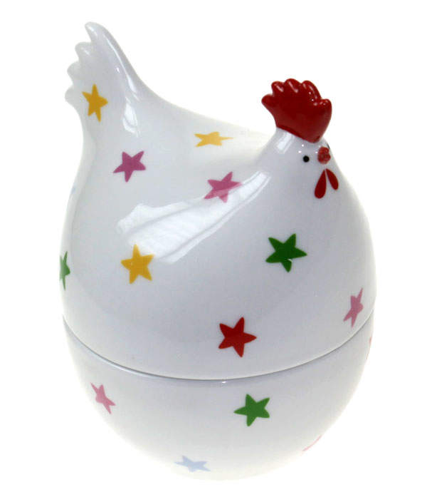 Martin Gulliver Rainbow Stars Hen Egg Cup Single Egg