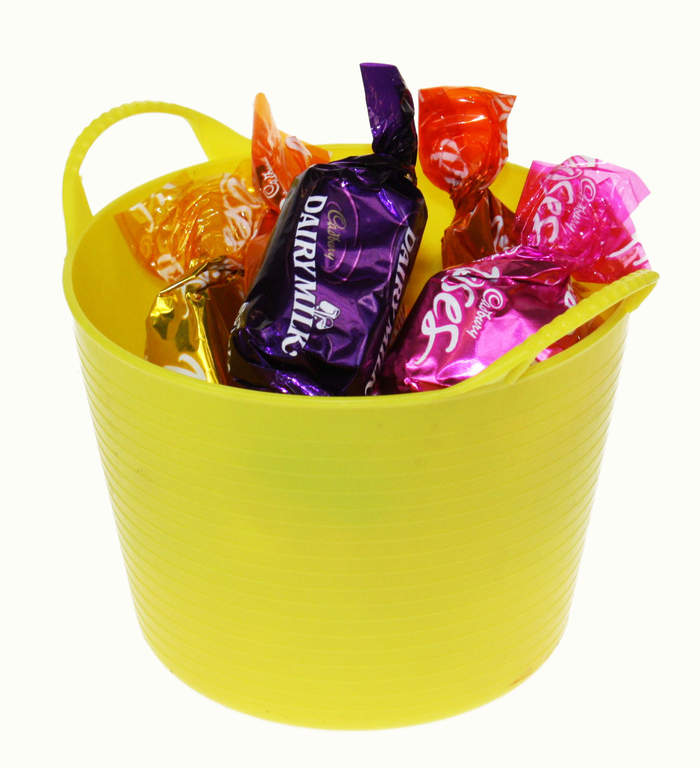 Use Mini Tub Trugs as a container for sweeties