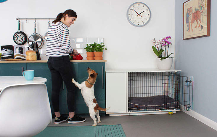new fido studio dog crate dog products omlet. Black Bedroom Furniture Sets. Home Design Ideas