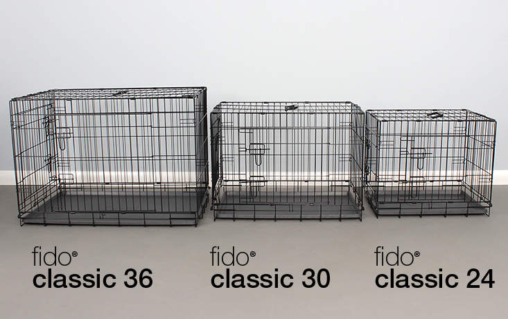 Fido Studio comes in a range of sizes - 24, 30 and 36inches