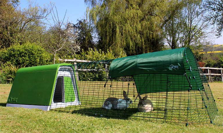 The Eglu Go Rabbit Hutch will look great in your garden