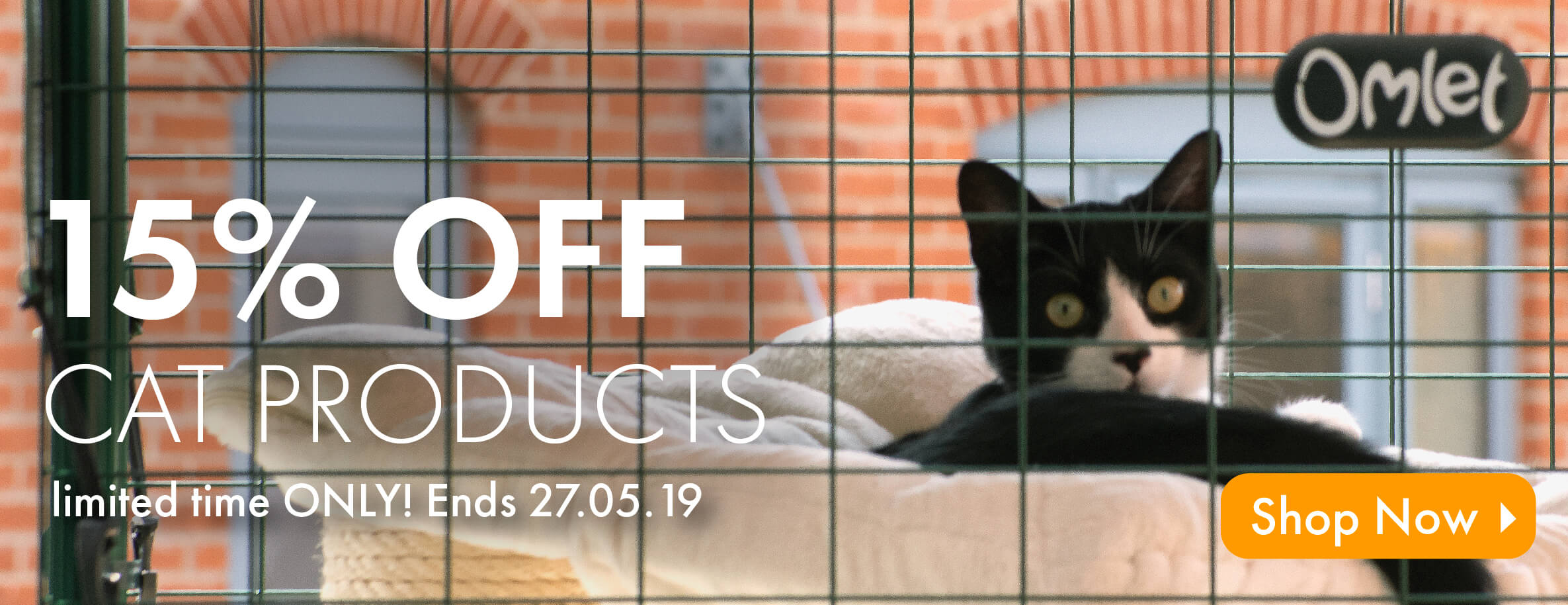 15% OFF Cat Products