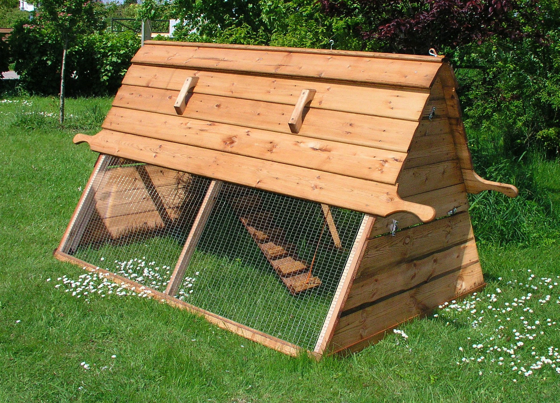 Chicken House boughton chicken coop | wooden chicken ark for 6 birds