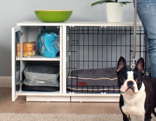 die fido studio hundebox zeitgem und praktisch zugleich hunde omlet. Black Bedroom Furniture Sets. Home Design Ideas