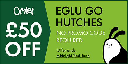 Eglu Go Hutch Promotion