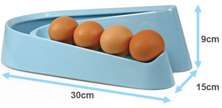 The Egg Ramp™ dimensions.