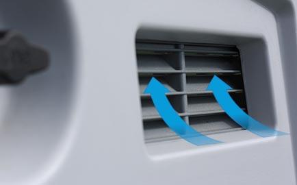 Zugluftfreie Ventilation für Ihre Hühner