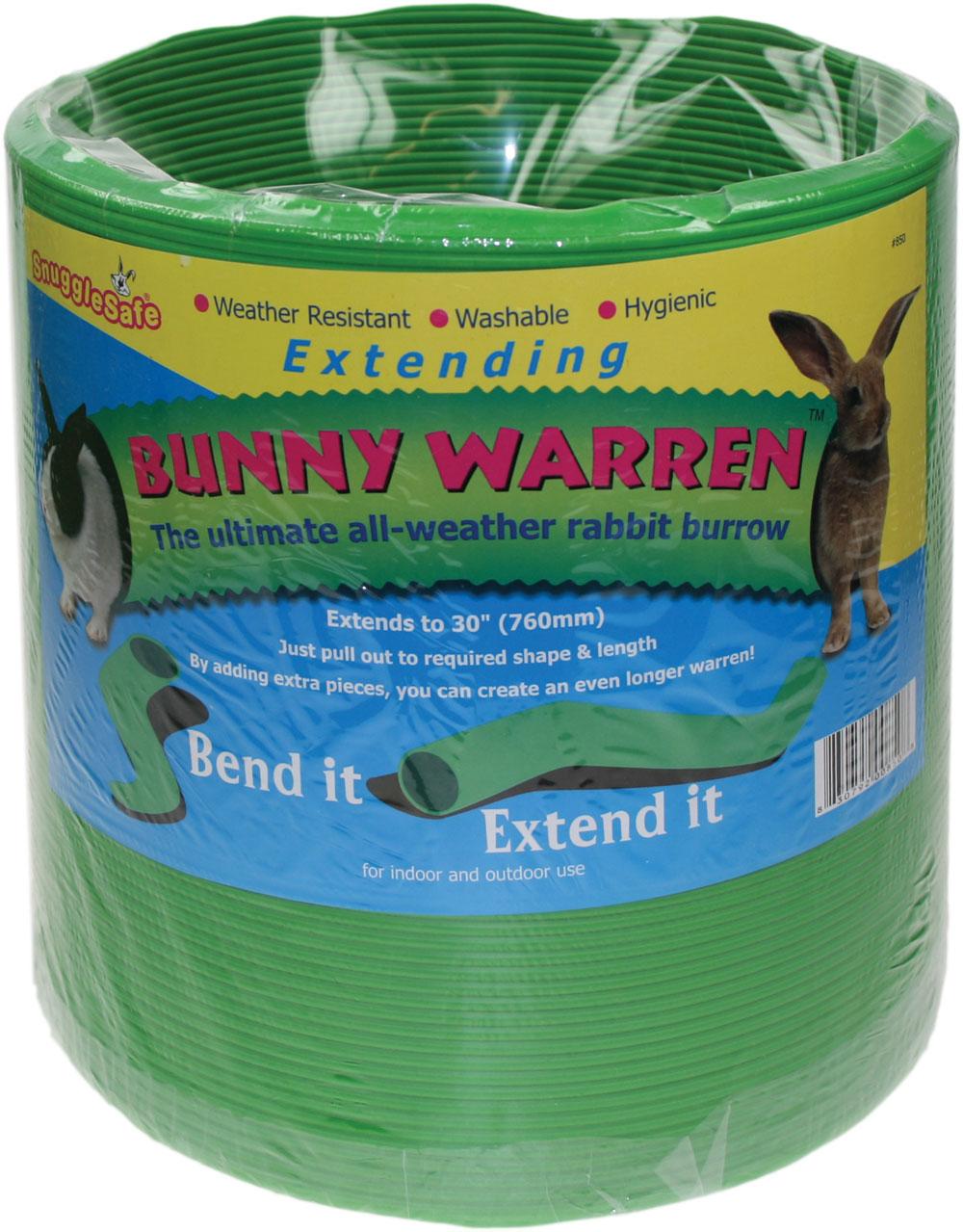 Snugglesafe Extending Bunny and Guinea Pig Warren   Rabbit Toys   Rabbit Products   Omlet