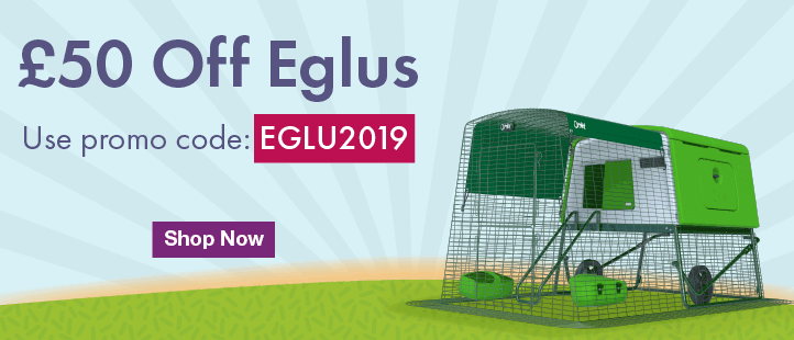 £50 off Eglu Promotion
