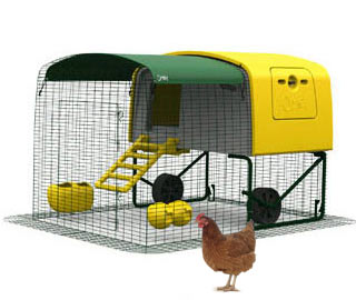 Eglu Cube Chicken House with Wheels