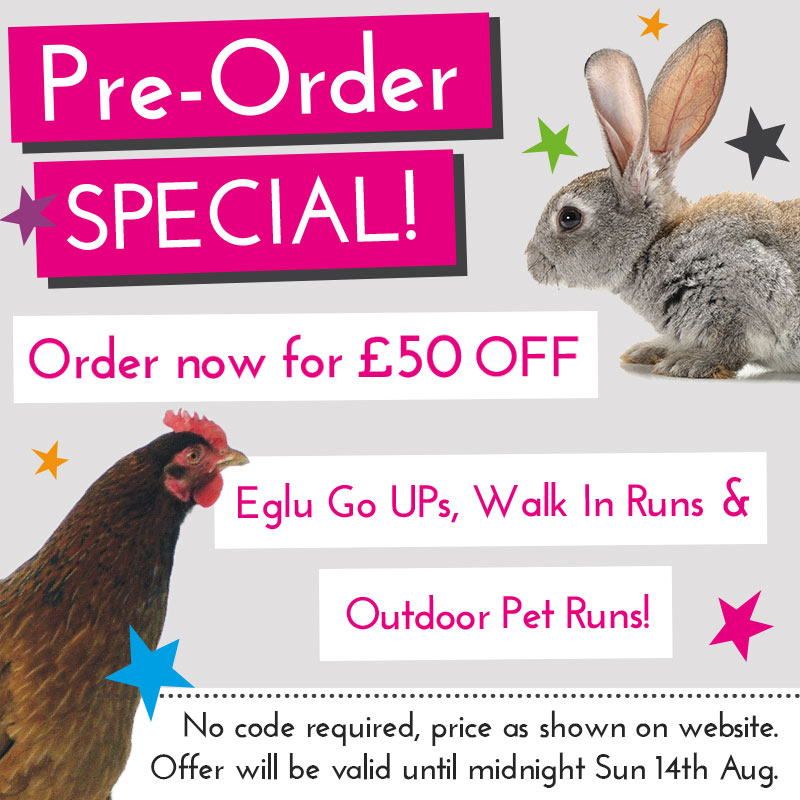 Pre Order Special Promo Homepage Mobile UK