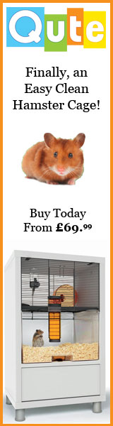 Finally, an easy clean hamster cage