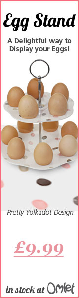 A Delightful Way to Display your Eggs!