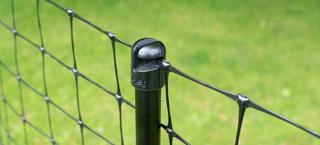 Omlet Chicken Fencing Mk2 - 12 metres - inc  Gate, Poles and Guy Lines