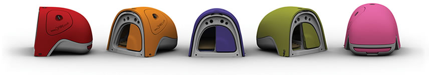 The Eglu Rabbit House comes in five great colours