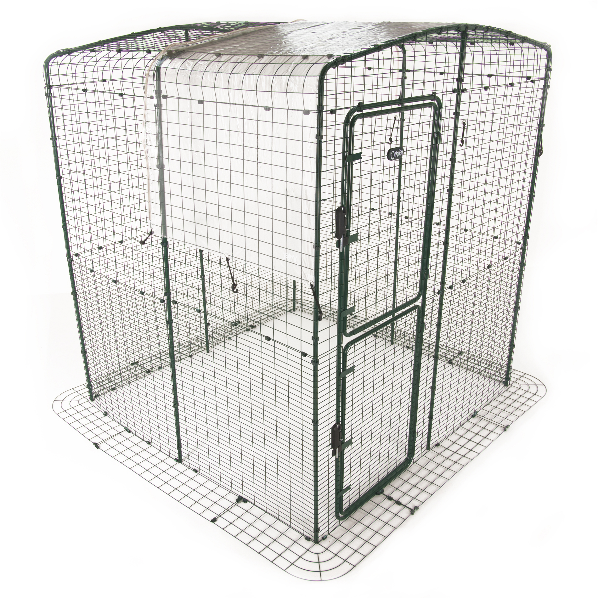 Clear Cover With Gutter Edge For Walk In Run Roof 3m Outdoor Stone Fuel Filters Weather Protection Chicken Coops Runs Fencing And