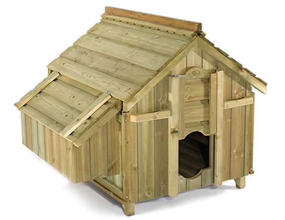 The Lenham chicken coop