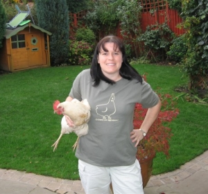 SarahJo shows off the new t-shirts